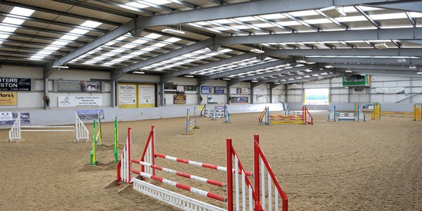 Myerscough College - Equine Studies - Arena