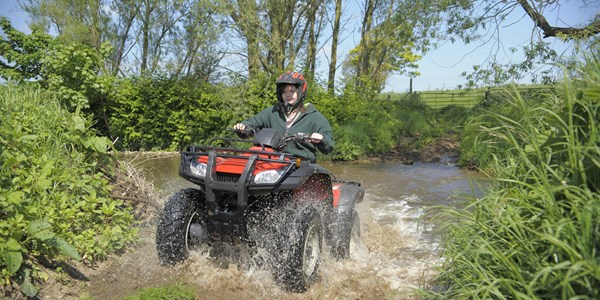 As a Countryside studies student you will have the opportunity to try off-road driving.