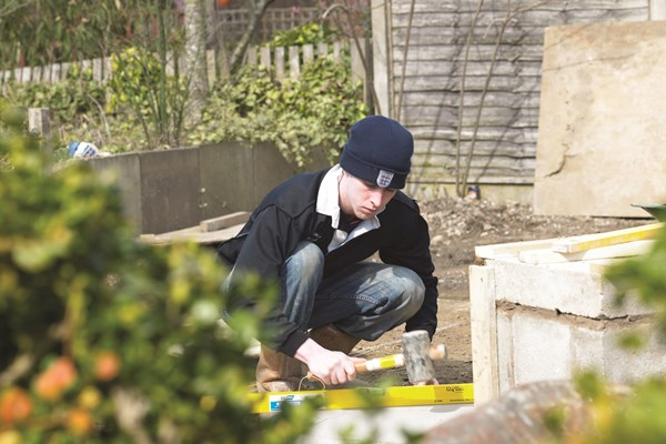 Our own landscaped gardens provide an excellent base for training
