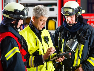 Myerscough College Public Services - Firefighters