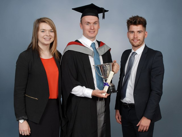 Elliot Wilson BSc (Hons) Turf (3) with Sponsors Ella Boyden and Aelx Hall.jpg