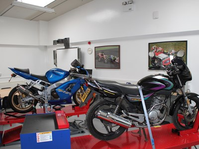 Myerscough College - Motorsports, Motorcyle Maintenance