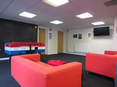Our under-18 common room