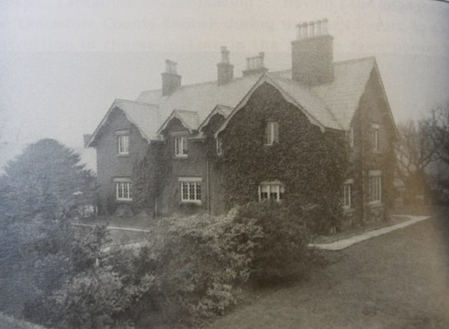 The original 'School House' at Home Farm in 1894