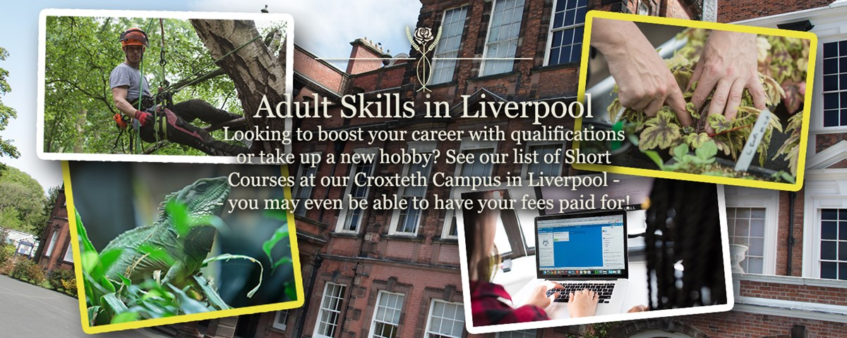 Looking to boost your career with qualifications or take up a new hobby? See our list of Short Courses at our Croxteth Campus in Liverpool - - you may even be able to have your fees paid for!