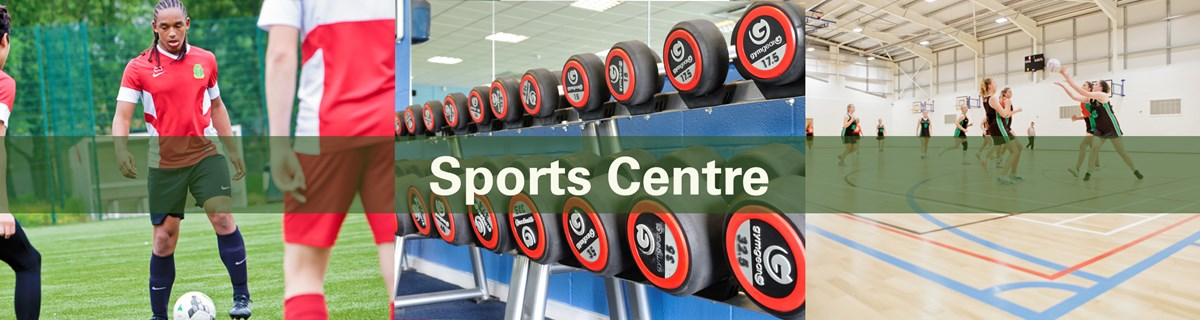 Commercial Services Hero Sports Centre Banner Template