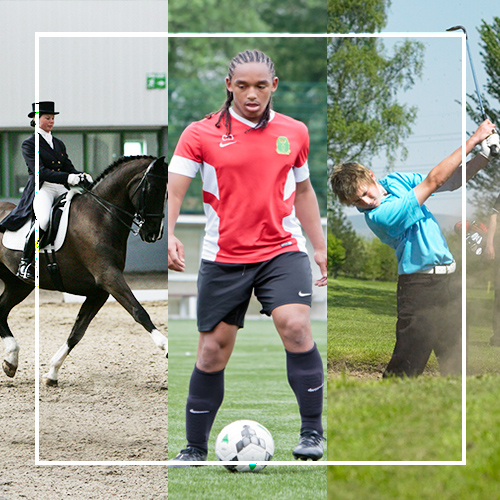 Myerscough Equestrian Centre, Football and Sports pitches and Golf Course in Preston, Lancashire