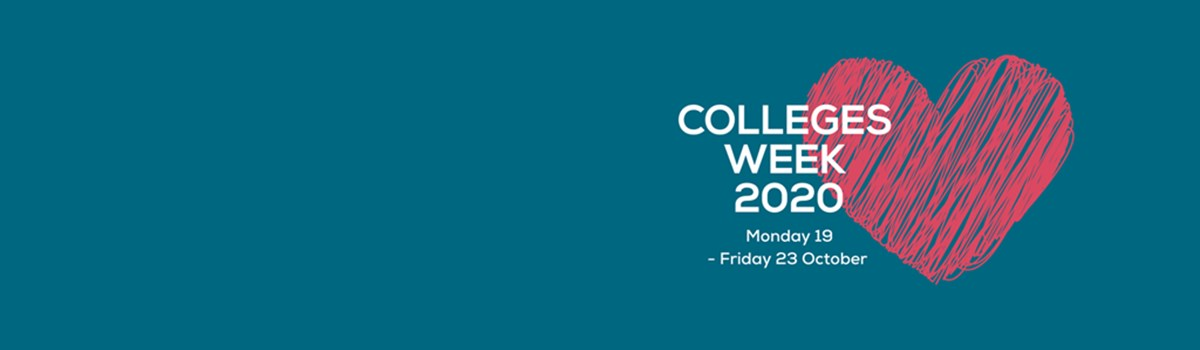 We are proud to be supporting Colleges Week! Join us from 19th-23rd October where we will have articles celebrating the Association of College's theme of the day all week!